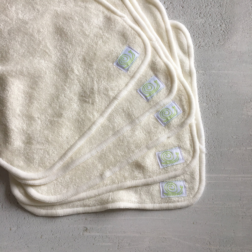 Baba & Boo Reusable Bamboo Wipes - Plain - Tilly & Jasper