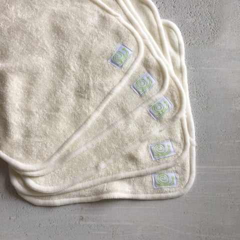 Image of Baba & Boo Reusable Bamboo Wipes - Plain