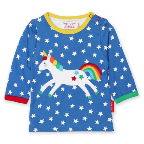 Toby Tiger Unicorn T-Shirt