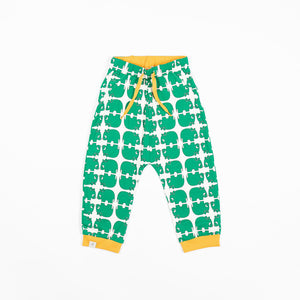 Alba Lucca Baby Pants - Pepper Green Wanna Be An Animal