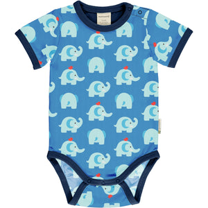 Maxomorra Short Sleeve Body - Elephant Friends