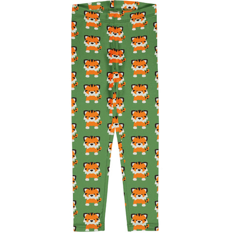 Maxomorra Leggings - Tangerine Tiger