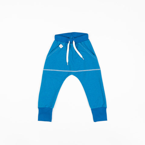 Image of Alba Magnus Pants - Mykonos Blue