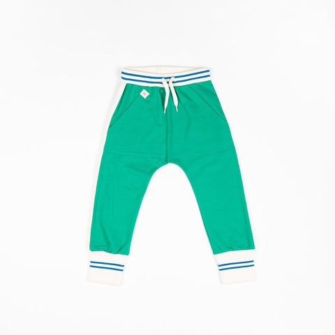 Image of Alba Mason Pants - Pepper Green