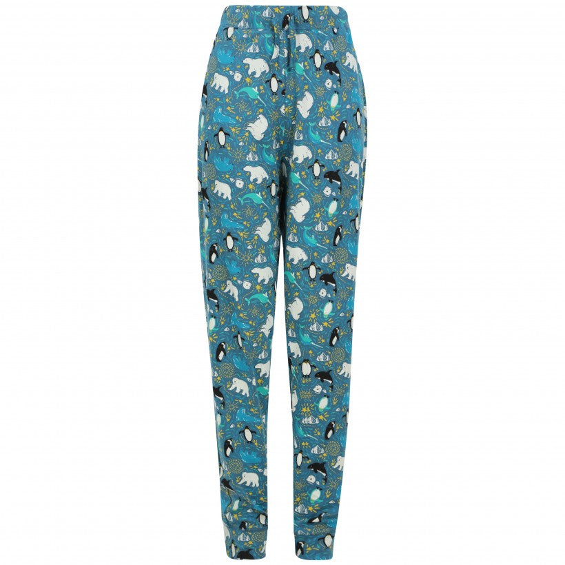 Piccalilly Adult Womens Loungewear Leggings - Arctic