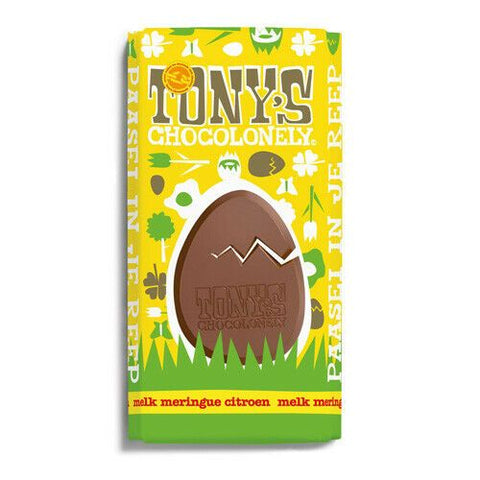 Tony's Chocolonely  Milk Chocolate Lemon Meringue 180g