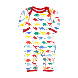 Toby Tiger Multi Dino Sleepsuit