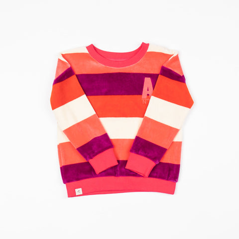Alba My Favourite Sweat - Wild Aster Love Stripe