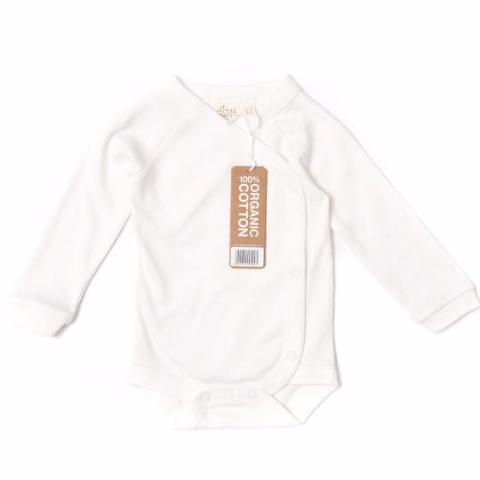 Long Sleeve Baby Wrap 3 Pack - Undyed, Organic Fairtrade Cotton