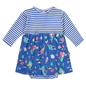 Piccalilly Baby Body Dress - Mermaid