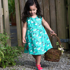 Piccalilly Swan Dress - Organic Cotton