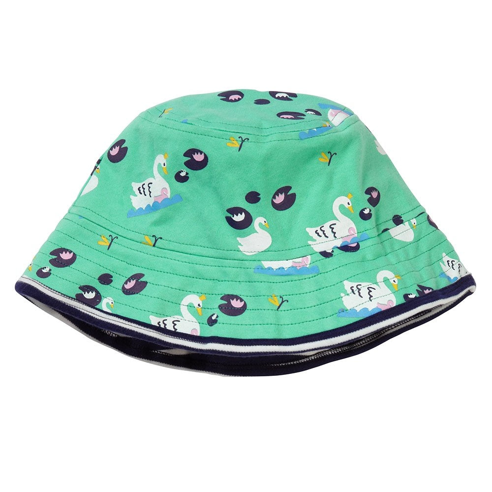 Piccalilly Reversible Hat - Swan