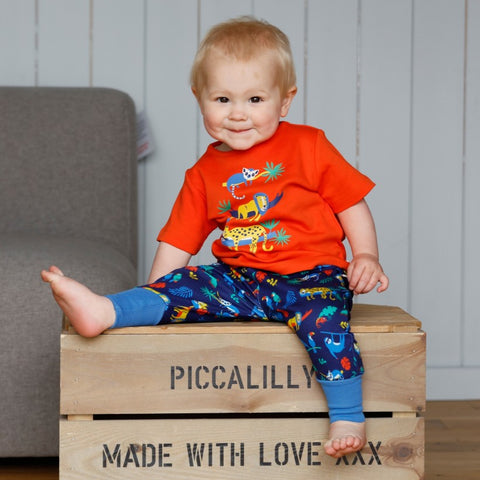 Piccalilly Pul-up Trousers - Safari