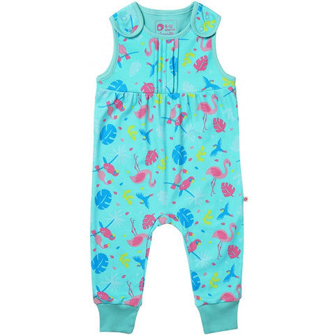 Image of Piccalilly Dungarees - Tropical