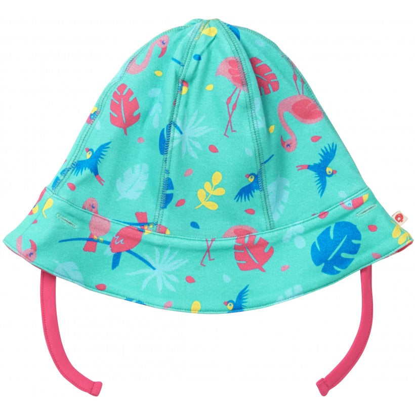 Piccalilly Reversible Baby Sun Hat - Tropical