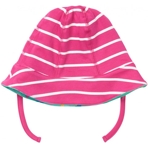 Image of Piccalilly Reversible Baby Sun Hat - Tropical