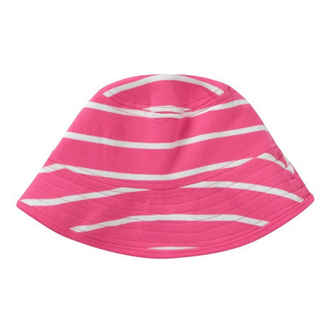 Image of Piccalilly Reversible Sun Hat - Tropical Stripe