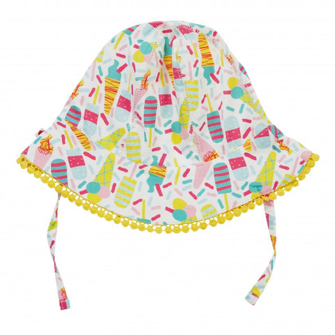 Piccalilly Baby Sun Hat - Ice Cream