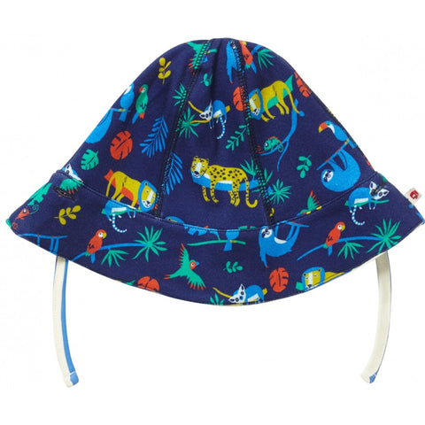 Image of Piccalilly Baby Reversible Sun Hat - Safari