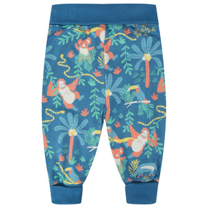 Piccalilly Pull-Up Trousers - Rainforest