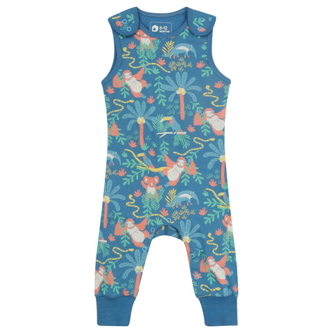 Piccalilly Dungarees - Rainforest