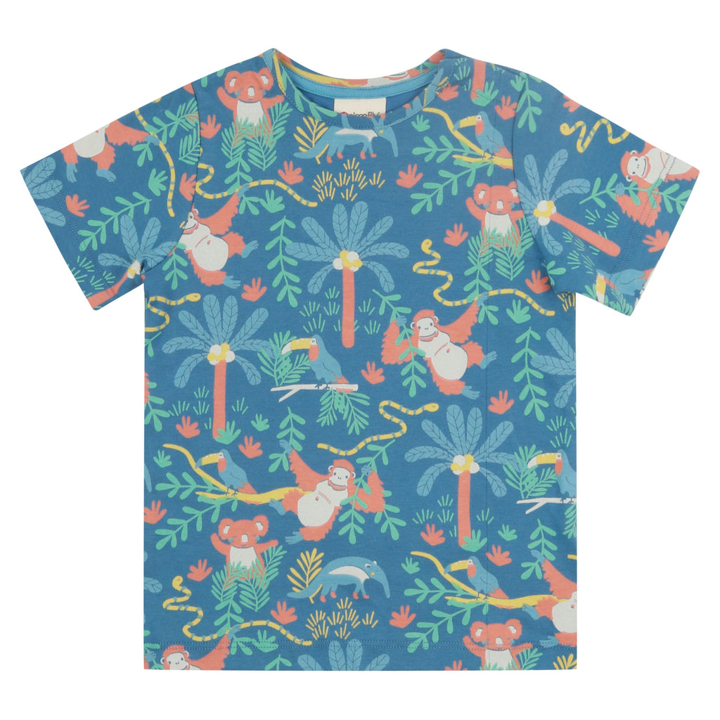 Piccalilly T-Shirt - Rainforest All Over Print