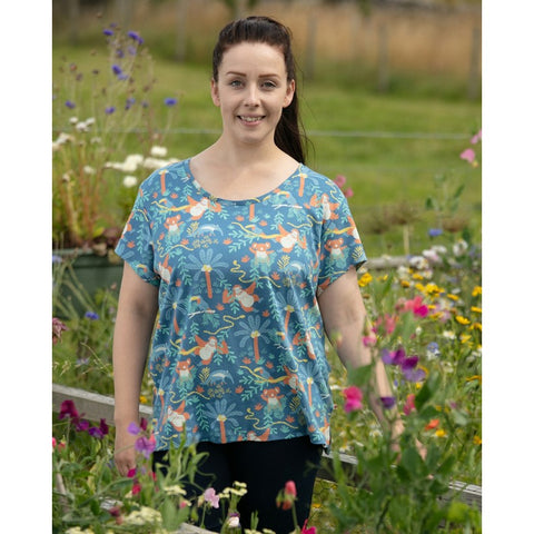 Image of Piccalilly Women's T-Shirt - Rainforest
