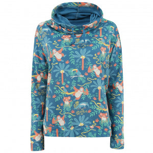 Piccalilly Women's Sweatshirt - Rainforest Funnel Neck