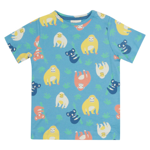 Piccalilly T-Shirt - Orangutan All Over Print