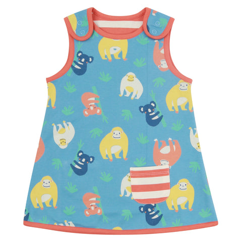 Piccalilly Reversible Dress - Orangutan