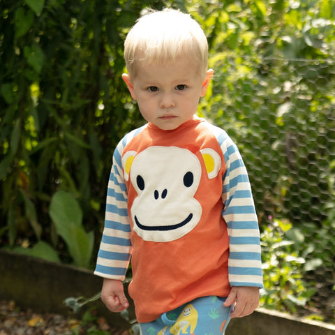 Piccalilly Raglan Top - Ape Face