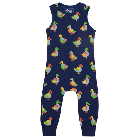 Piccalilly Dungarees - Duck