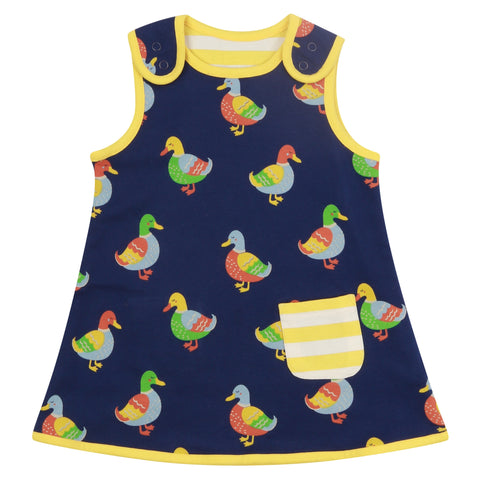 Image of Piccalilly Reversible Dress - Duck