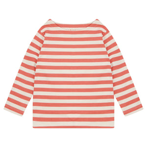 Piccalilly Stripe Top - Spicy Orange