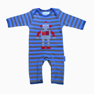 Toby Tiger Robot Sleepsuit