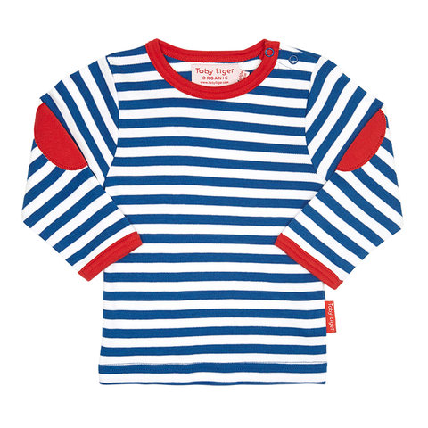Breton Stripe Long-sleeved T-Shirt 2 Pack - Organic Cotton