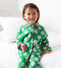 Image of Brushed Cotton Pea Flower Pyjamas