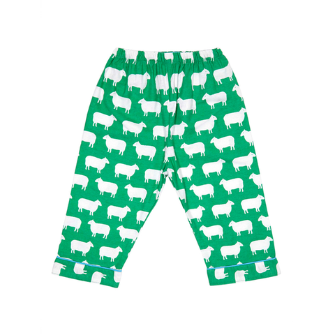 Image of Toby Tiger Brushed Cotton Sheep Pyjamas