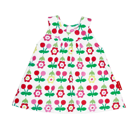 Image of Cherry Baby Dress & Pants Set