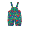 Image of Squirrel Pattern Cord Dungarees