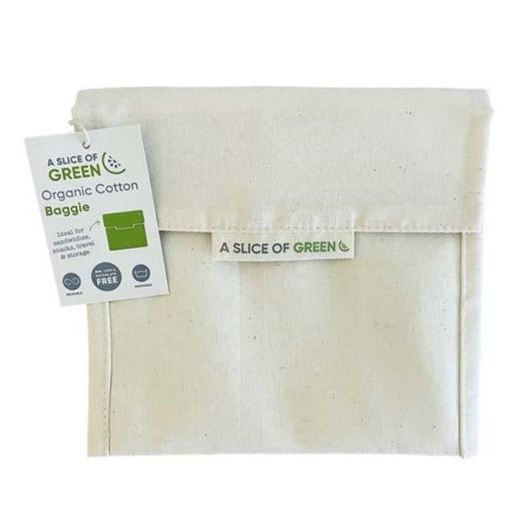 Organic Cotton Large Baggie - Natural