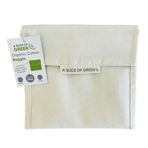 Image of Organic Cotton Large Baggie - Natural
