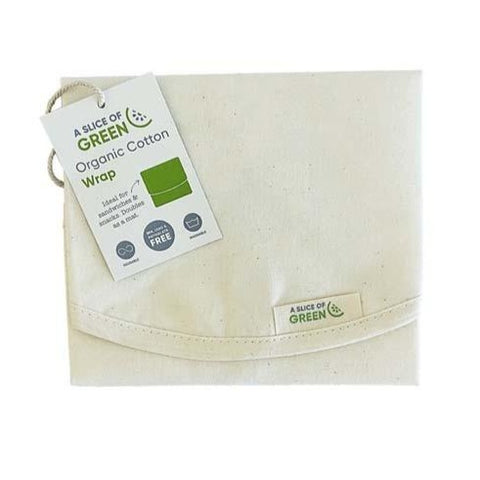 Image of Natural Organic Cotton Sandwich/Food Wrap