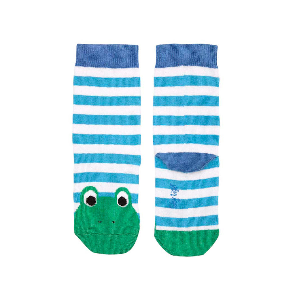 Toby Tiger Cotton Frog Socks