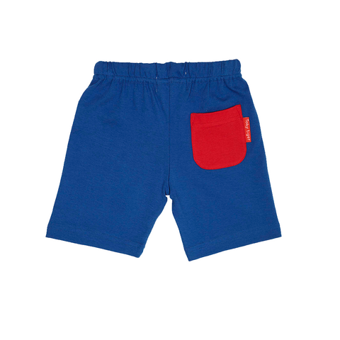 Image of Toby Tiger Navy Shorts