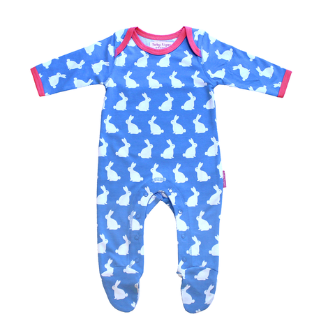 Image of Toby Tiger Bunny Babygrows 2 Pack