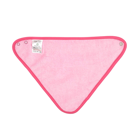 Image of Organic Cotton - Pink Jungle Dribble Bib