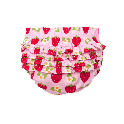 Strawberry Baby Dress & Pants Set
