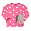 Image of Horse Wrap Around Long-sleeved T-Shirt - Organic Cotton