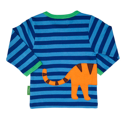 Tiger Wrap Around Long-sleeved T-Shirt - Organic Cotton